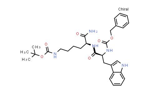 Z-Trp-Lys(Boc)-NH2