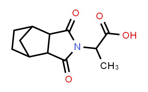 2-(1,3-Dioxohexahydro-1H-4,7-methanoisoindol-2(3H)-yl)propanoic acid