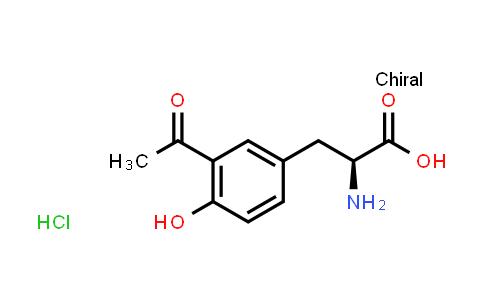 (S)-3-(3-Acetyl-4-hydroxyphenyl)-2-aminopropanoic acid hydrochloride