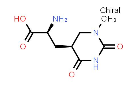 (S)-2-Amino-3-((S)-1-methyl-2,4-dioxohexahydropyrimidin-5-yl)propanoic acid