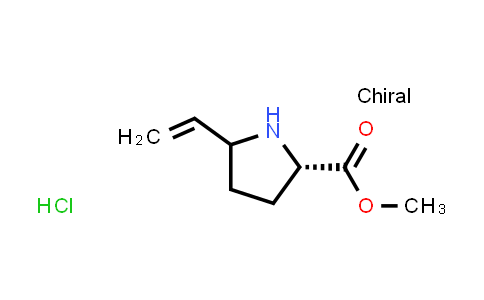 (2S)-Methyl 5-vinylpyrrolidine-2-carboxylate hydrochloride