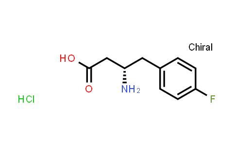 (S)-3-Amino-4-(4-fluorophenyl)butanoic acid hydrochloride