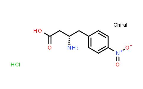 (S)-3-Amino-4-(4-nitrophenyl)butanoic acid hydrochloride