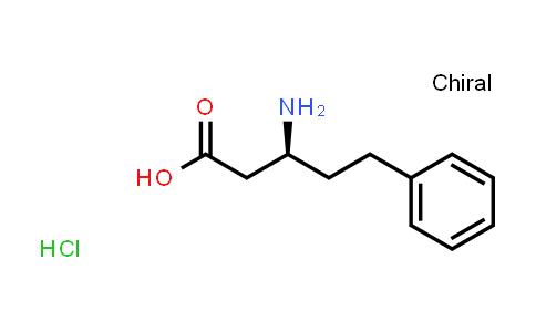 (S)-3-Amino-5-phenylpentanoic acid hydrochloride