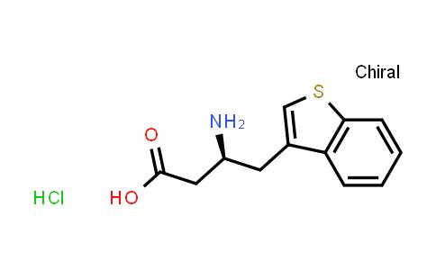 (S)-3-Amino-4-(3-benzothienyl)butanoic acid hydrochloride