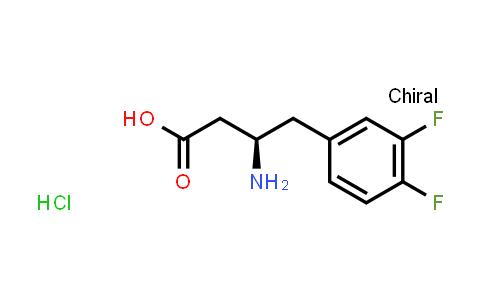 (R)-3-Amino-4-(3,4-difluorophenyl)butanoic acid hydrochloride