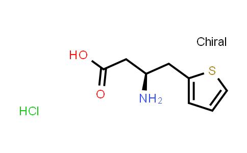 (S)-3-Amino-4-(thiophen-2-yl)butanoic acid hydrochloride