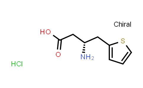(R)-3-Amino-4-(thiophen-2-yl)butanoic acid hydrochloride