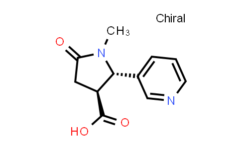 (2S,3S)-1-Methyl-5-oxo-2-(pyridin-3-yl)pyrrolidine-3-carboxylic acid
