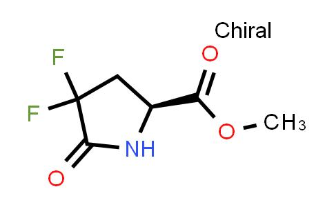 (S)-Methyl 4,4-difluoro-5-oxopyrrolidine-2-carboxylate
