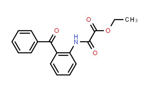Ethyl 2-((2-benzoylphenyl)amino)-2-oxoacetate