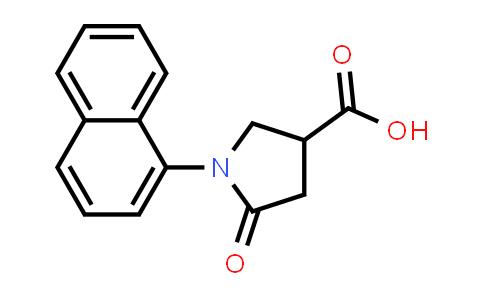1-(Naphthalen-1-yl)-5-oxopyrrolidine-3-carboxylic acid