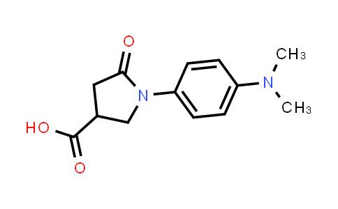 1-(4-(Dimethylamino)phenyl)-5-oxopyrrolidine-3-carboxylic acid