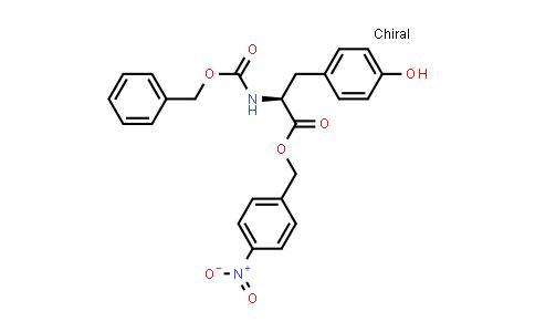 (S)-4-Nitrobenzyl 2-(((benzyloxy)carbonyl)amino)-3-(4-hydroxyphenyl)propanoate