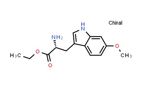 (R)-Ethyl 2-amino-3-(6-methoxy-1H-indol-3-yl)propanoate