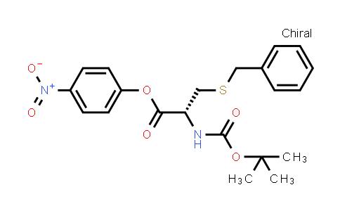 (R)-4-Nitrophenyl 3-(benzylthio)-2-((tert-butoxycarbonyl)amino)propanoate