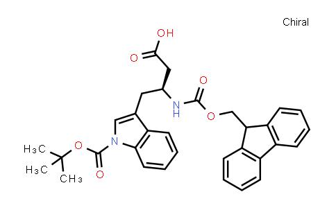 Fmoc-β-HoTrp(Boc)-OH