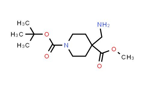 1-tert-Butyl 4-methyl 4-(aminomethyl)piperidine-1,4-dicarboxylate