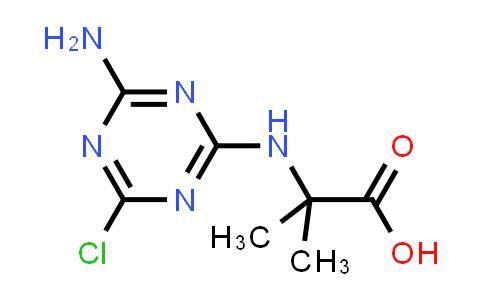 2-((4-Amino-6-chloro-1,3,5-triazin-2-yl)amino)-2-methylpropanoic acid
