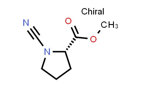 (S)-Methyl 1-cyanopyrrolidine-2-carboxylate