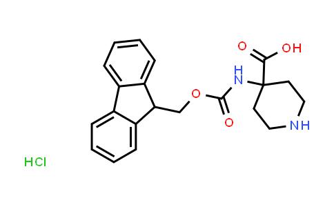 4-(Fmoc-Amino)-4-piperidinecarboxylic acid hydrochloride