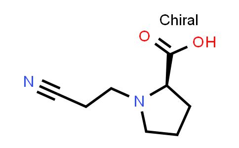 (R)-1-(2-Cyanoethyl)pyrrolidine-2-carboxylic acid