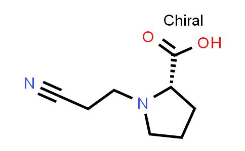 (S)-1-(2-Cyanoethyl)pyrrolidine-2-carboxylic acid