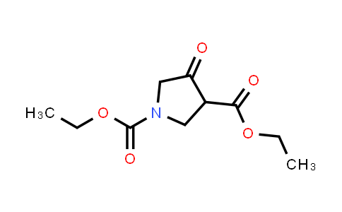 Diethyl 4-oxopyrrolidine-1,3-dicarboxylate
