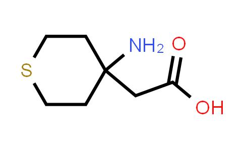 2-(4-Aminotetrahydro-2H-thiopyran-4-yl)acetic acid