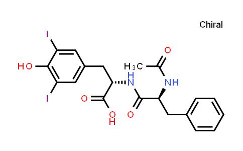 (S)-2-((S)-2-Acetamido-3-phenylpropanamido)-3-(4-hydroxy-3,5-diiodophenyl)propanoic acid