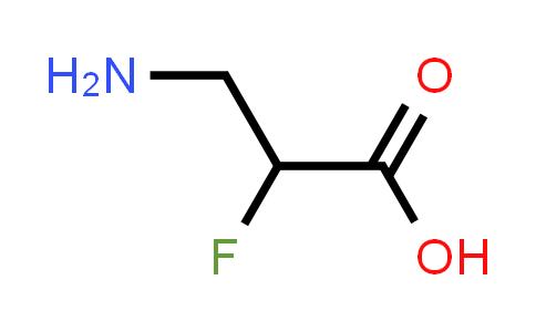 3-Amino-2-fluoropropanoic acid