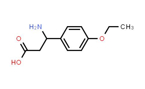 3-Amino-3-(4-ethoxyphenyl)propanoic acid