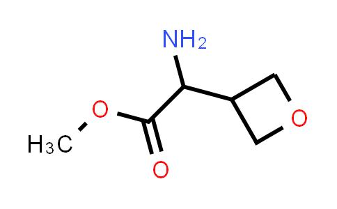 Methyl 2-amino-2-(oxetan-3-yl)acetate