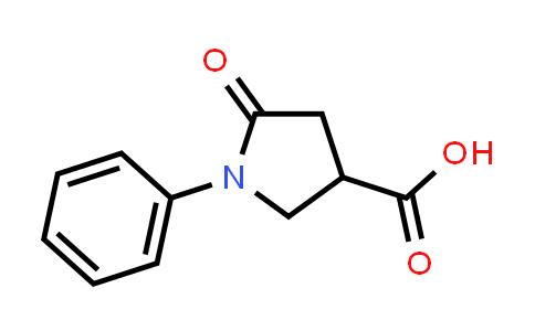 5-Oxo-1-phenylpyrrolidine-3-carboxylic acid