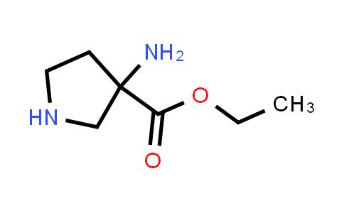 Ethyl 3-aminopyrrolidine-3-carboxylate