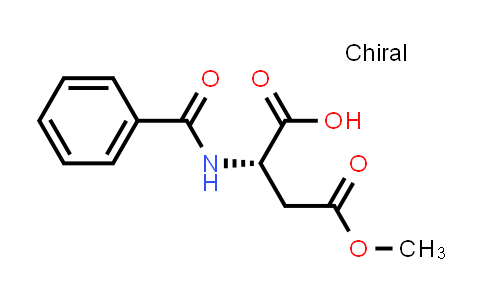 (S)-2-Benzamido-4-methoxy-4-oxobutanoic acid