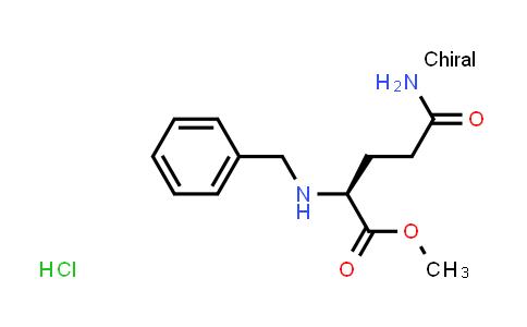 (S)-Methyl 5-amino-2-(benzylamino)-5-oxopentanoate hydrochloride