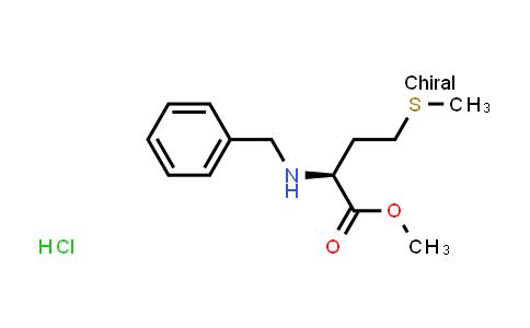 (S)-Methyl 2-(benzylamino)-4-(methylthio)butanoate hydrochloride