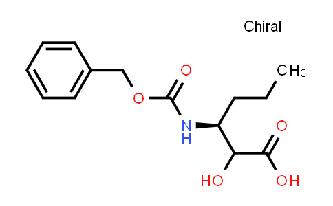 (3S)-3-(((Benzyloxy)carbonyl)amino)-2-hydroxyhexanoic acid