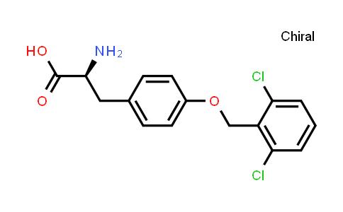 (S)-2-Amino-3-(4-((2,6-dichlorobenzyl)oxy)phenyl)propanoic acid