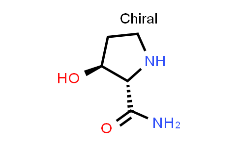 (2S,3S)-3-Hydroxypyrrolidine-2-carboxamide