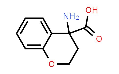4-Aminochroman-4-carboxylic acid