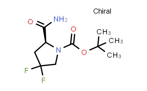 (S)-tert-Butyl 2-carbamoyl-4,4-difluoropyrrolidine-1-carboxylate