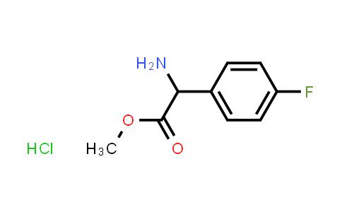 Methyl 2-amino-2-(4-fluorophenyl)acetate hydrochloride