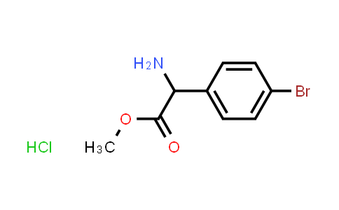 Methyl 2-amino-2-(4-bromophenyl)acetate hydrochloride