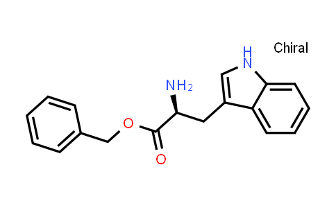 (S)-Benzyl 2-amino-3-(1H-indol-3-yl)propanoate