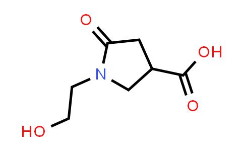 1-(2-Hydroxyethyl)-5-oxopyrrolidine-3-carboxylic acid