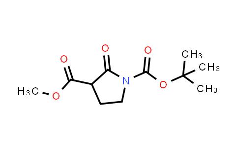 1-tert-Butyl 3-methyl 2-oxopyrrolidine-1,3-dicarboxylate