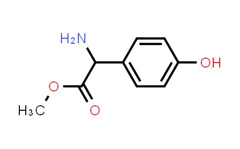 Methyl 2-amino-2-(4-hydroxyphenyl)acetate