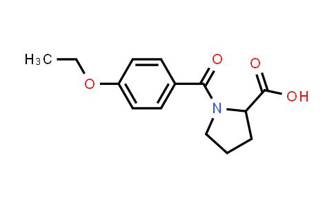 1-(4-Ethoxybenzoyl)pyrrolidine-2-carboxylic acid